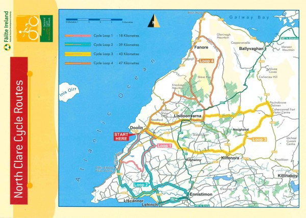 North Clare Cycling Routes